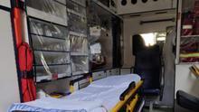 Una unidad de Ambulancias Tacoronte.