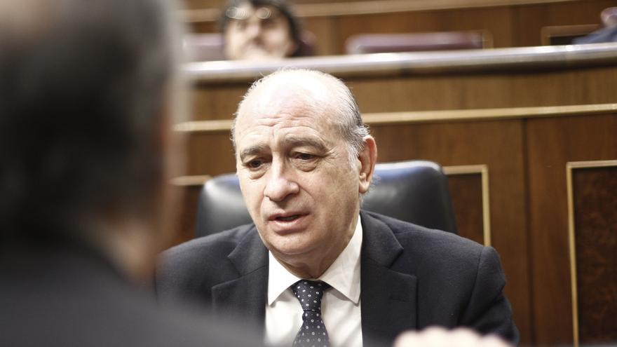 El ministro del Interior, Jorge Fernández Díaz, en el Congreso / EFE