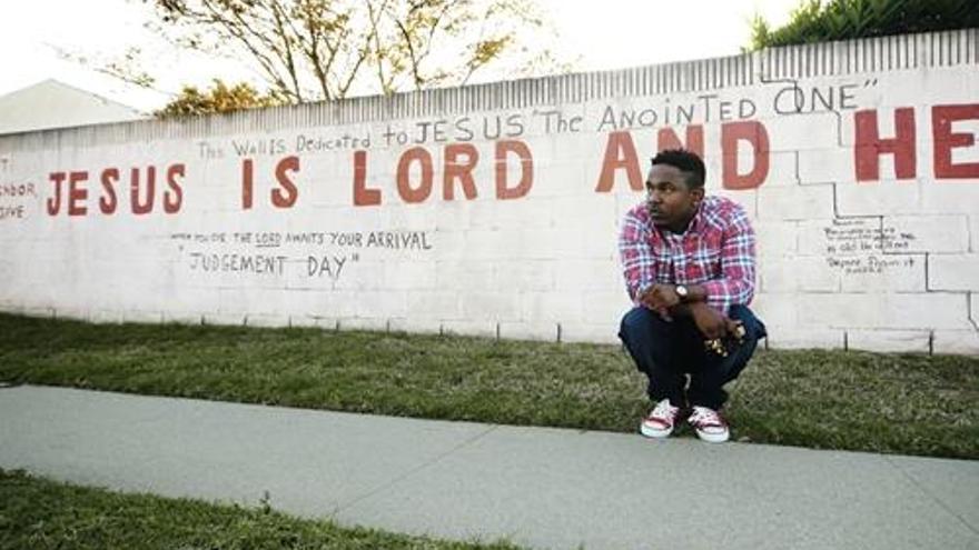 El rapero Kendrick Lamar. Fotografía de su web oficial