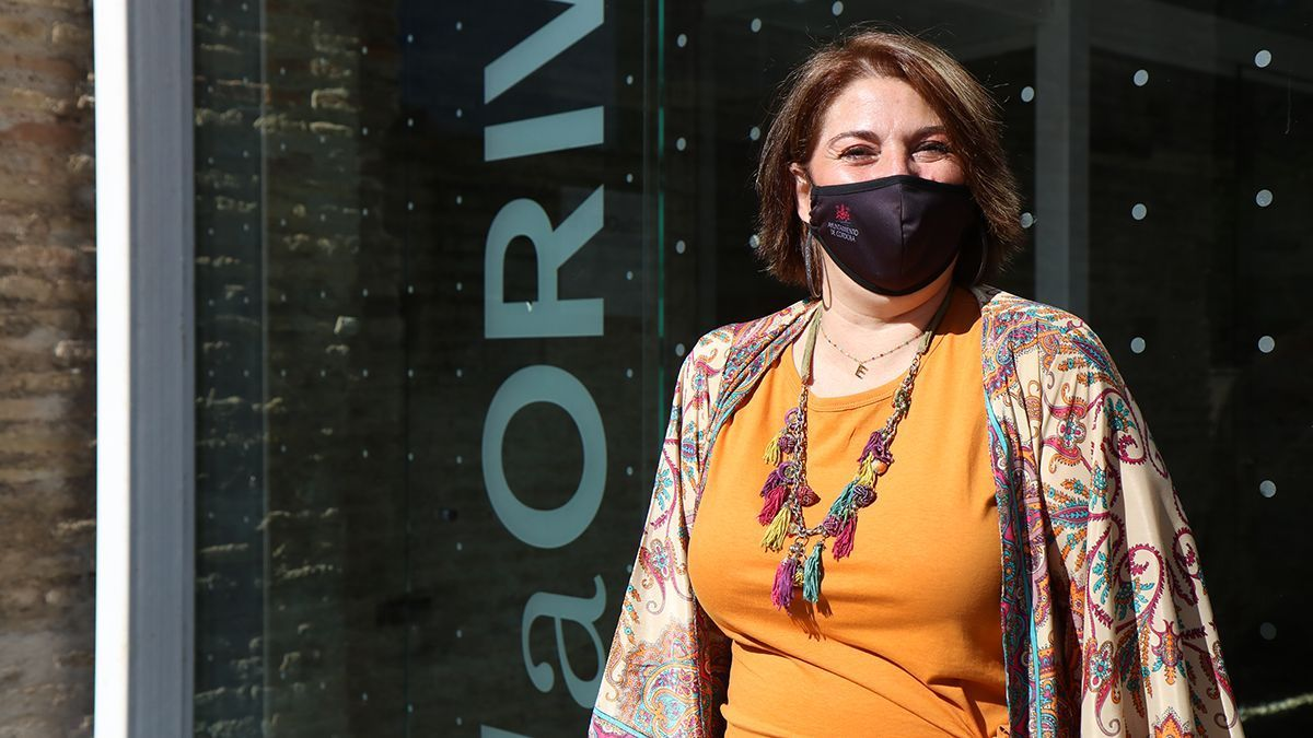 La teniente de alcalde del área de Mayores del Ayuntamiento, Eva Contador.