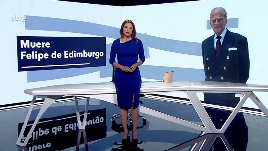 Momento en el que la noticia ha sido recogida en el 'Telediario'