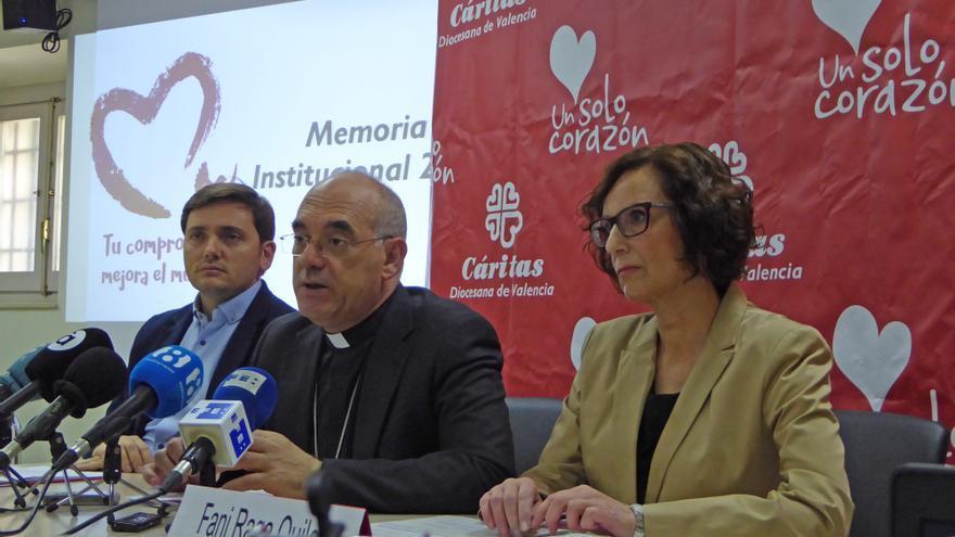 Ignacio Grande (izquierda), Arturo Ros y Fani Raga
