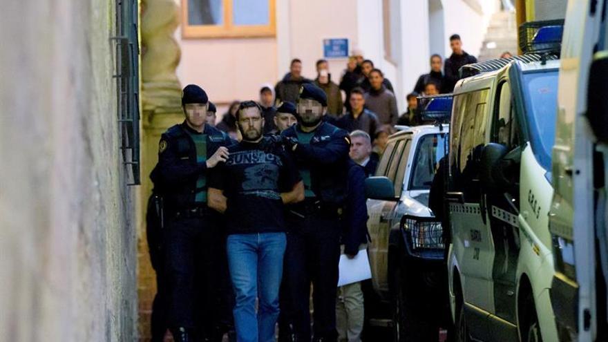 Norbert Feher reconoce los asesinatos ante la jueza de guardia de Alcañiz