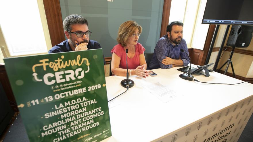 La concejala de Cultura presenta el Fetsival CERO de Las Palmas de Gran Canaria.