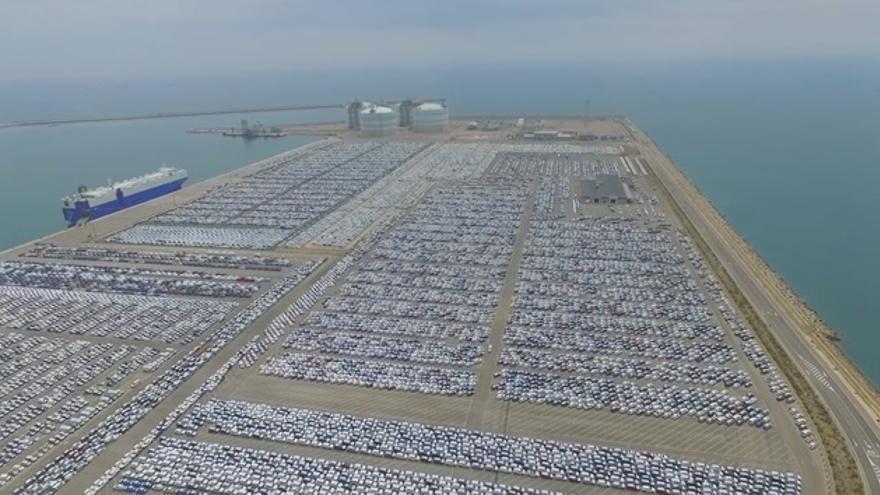Imagen del puerto de Sagunt