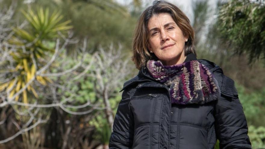 Casiana Muñoz Tuñón, subdirectora del IAC y miembro del Comité Directivo del Congreso Dark and Quiet Skies for Science and Society. Crédito: Inés Bonet (IAC).