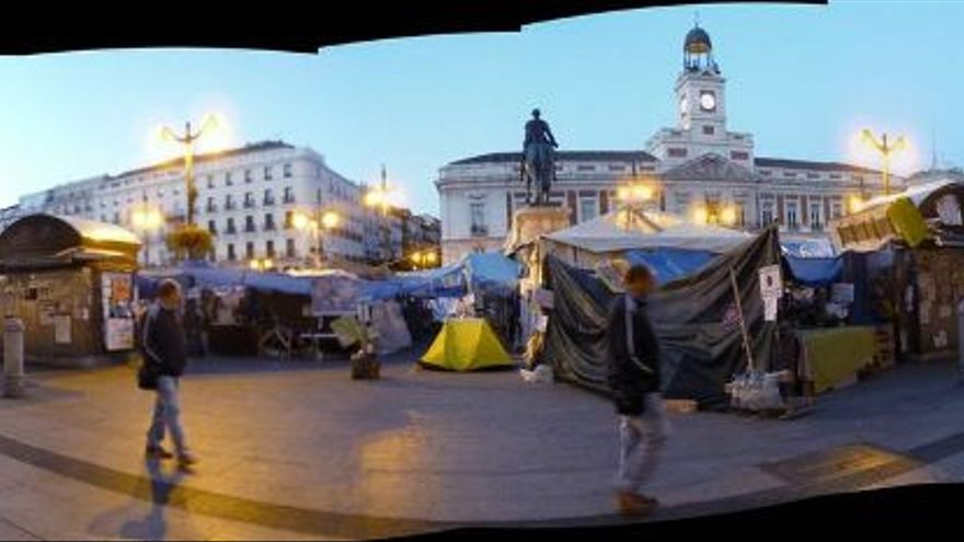 Una imagen del documental '15M: Excelente. Revulsivo. Importante', que se podrá ver, junto con muchos otros, en el Barcelona Creative Commons Film Festival (BccN).