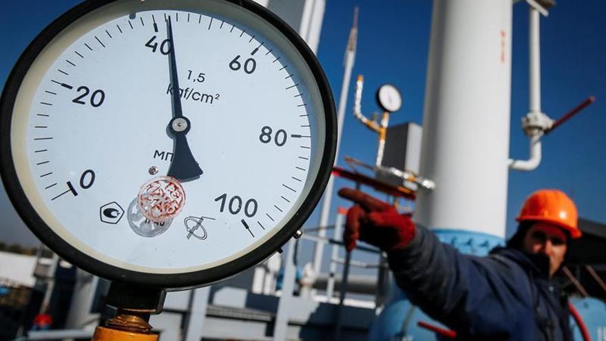 Ucrania aumenta un 53 % las importaciones de gas europeo en los nueve primeros meses