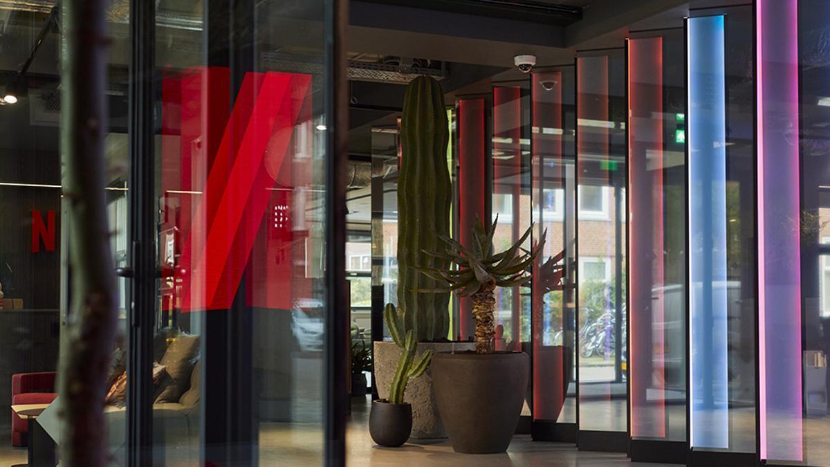 Imagen de la sede de Netflix en Amsterdam