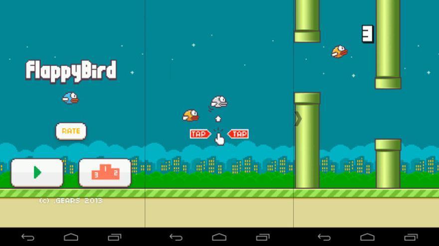 Pantalla Flappy Bird