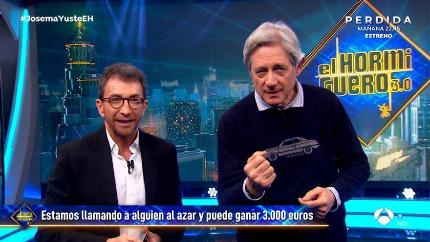 Pablo Motos y Josema Yuste en 'El Hormiguero'