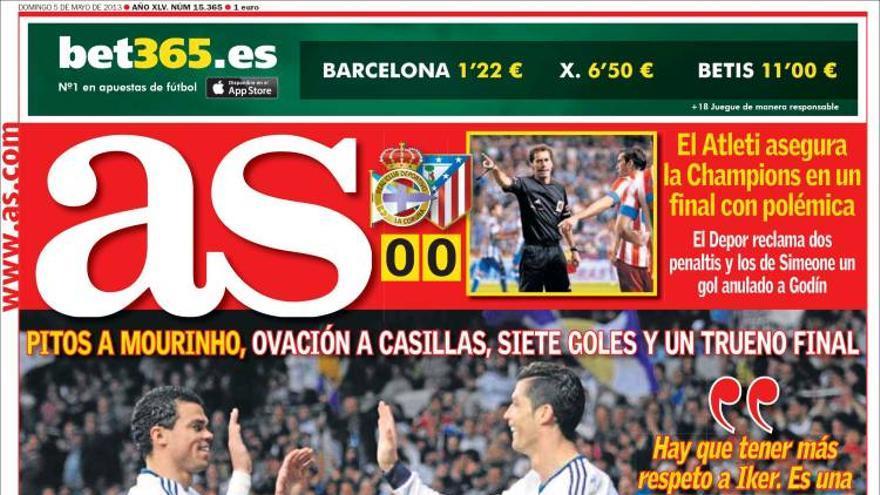 Las portadas del día (5-05-2012) #12