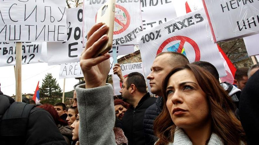 """Caen a """"cero"""" las importaciones kosovares de productos serbios y bosnios"""