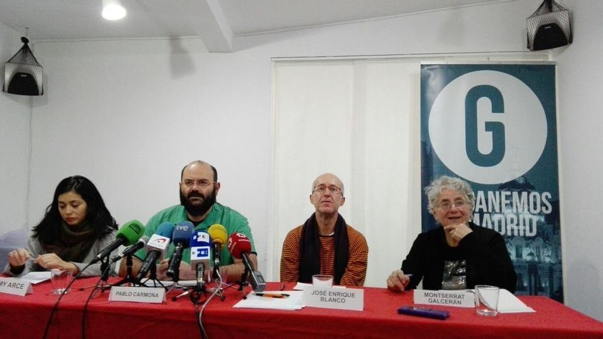 """Rommy Arce, de Ahora Madrid, sobre los tres concejales de Ganemos: """"Aquí no va a dimitir nadie"""""""