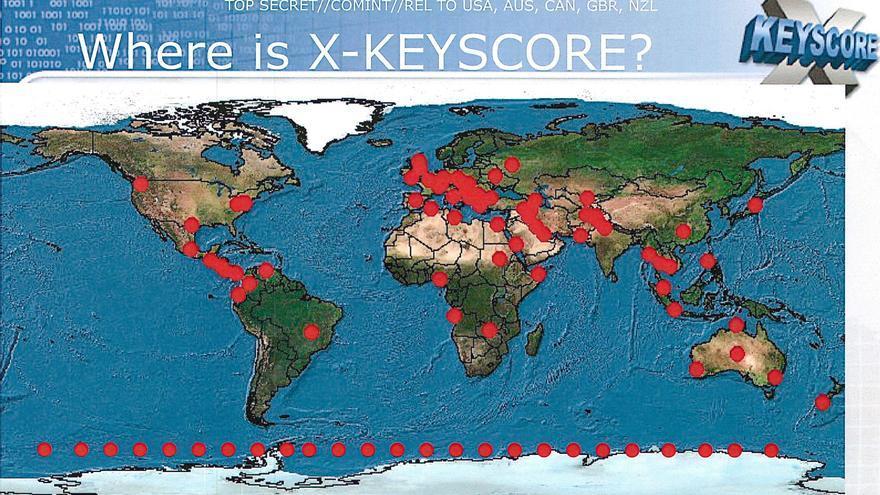 ¿Dónde se usa XKeyscore?