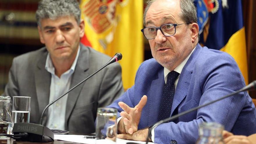 El administrador único de RTVC, José Carlos Naranjo. EFE/Cristóbal García