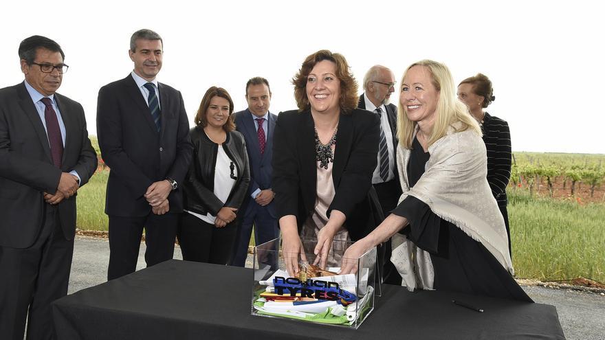 Inauguración del centro tecnológico Nokian Tyres en Santa Cruz de la Zarza