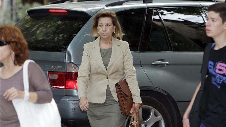 El juez rechaza que Munar declare mañana por videoconferencia desde la cárcel