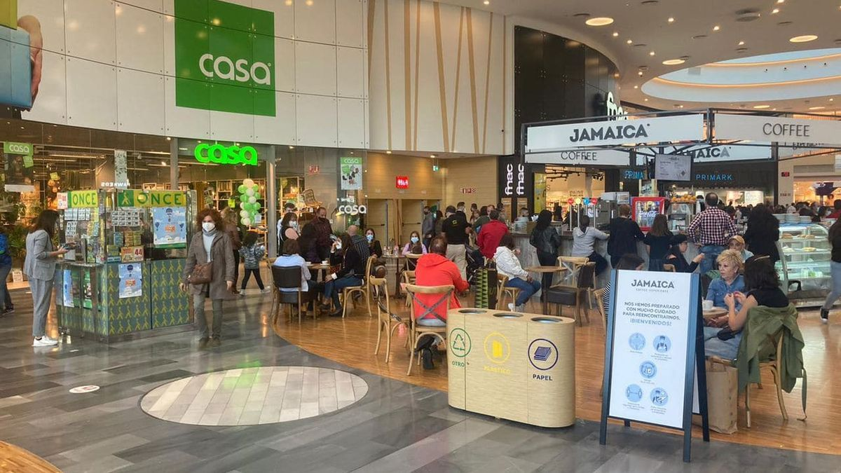 El centro comercial Río Shopping en Valladolid, en una imagen de archivo.
