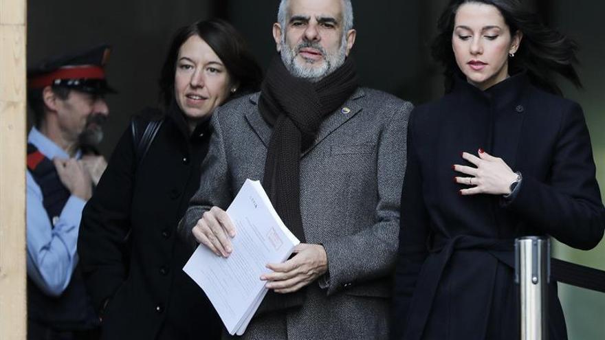 """Cs se querella contra Torra por un delito de """"provocación a la sedición"""""""