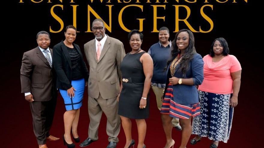 El grupo Tony Washingtong Gospel Singers.