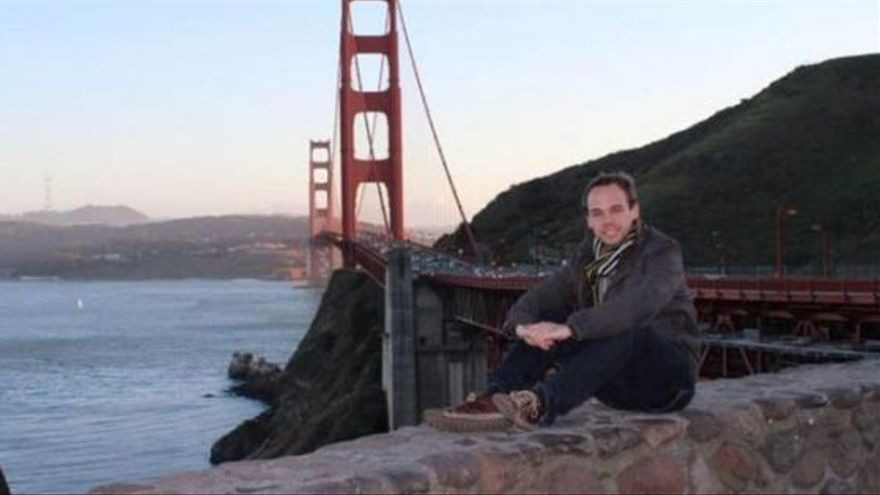 El copiloto Andres Guenter Lubitz en la foto de su perfil de Facebook.