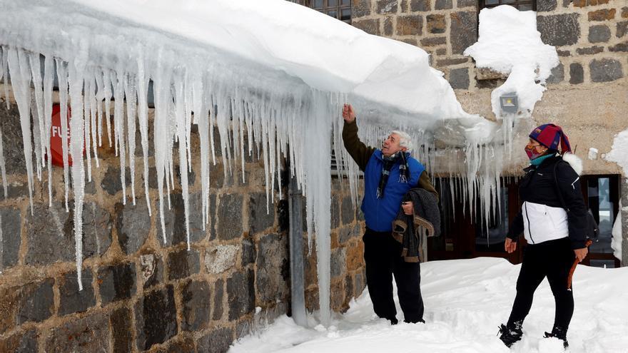 Heladas fuertes en el interior peninsular y temperaturas inferiores a -8ºC