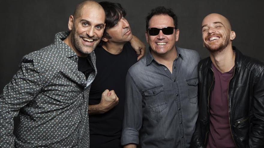 En la imagen, el grupo Los Salvapantallas.