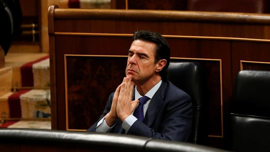 El ministro de Industria en funciones, José Manuel Soria.