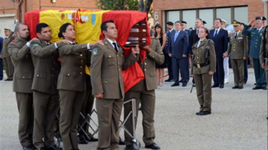 Marcelino Iglesias y Javier Fernández arroparon a la familia