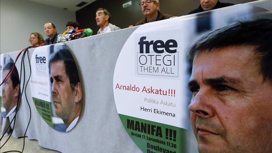 Estrasburgo examinará parcialmente la demanda de Otegi contra España