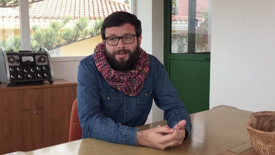 El periodista y director de Espal, Txema Santana.