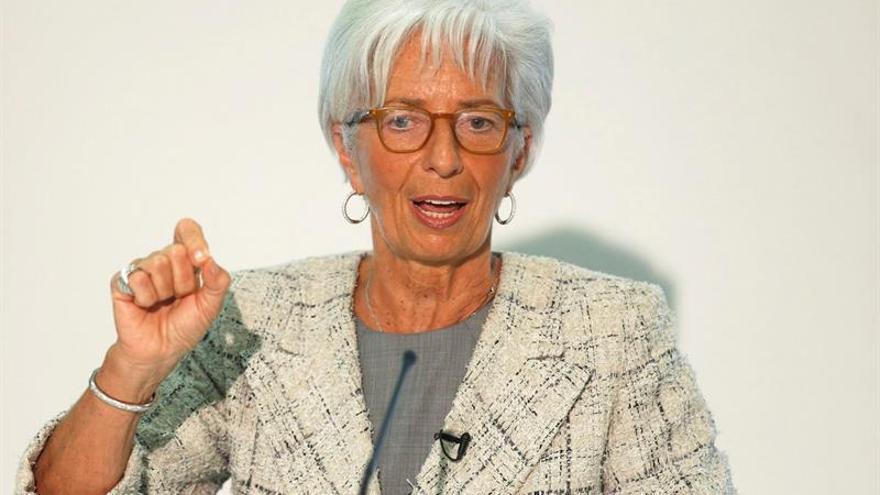 Christine Lagarde aplaude la política económica del Gobierno canadiense