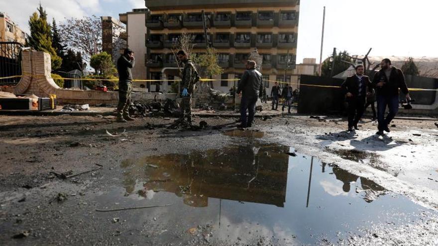 Aumentan a 16 los muertos en un ataque en Manbech (Siria), incluidos dos miembros de la coalición internacional