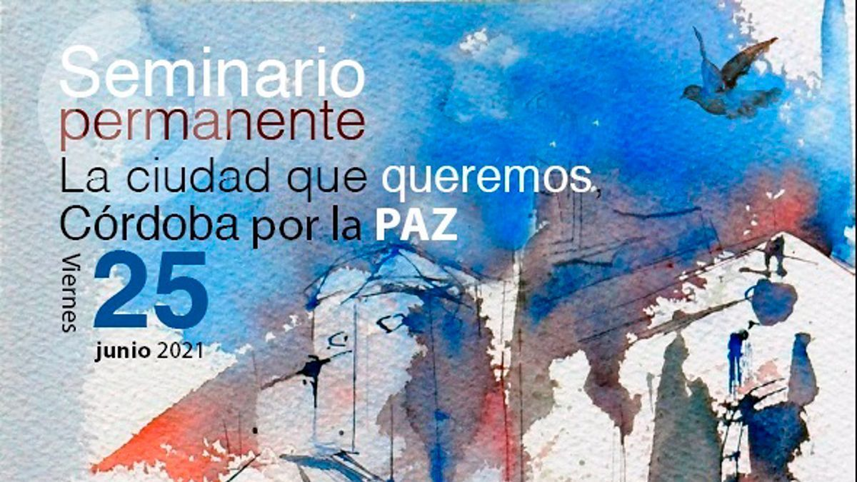 Imagen del cartel del seminario permanente de Córdoba en Común.