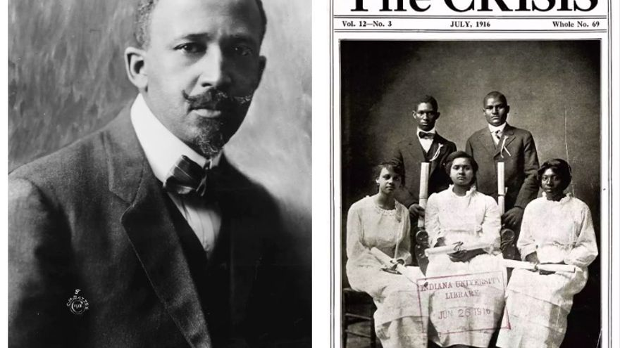 WEB Du Bois, director de la revista 'The Crisis', de la NAACP.