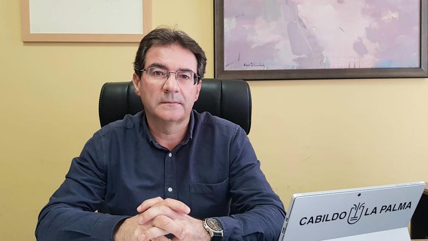 """José Adrián Hernández: """"El Cabildo ha mejorado el servicio del Matadero Insular con más personal"""""""