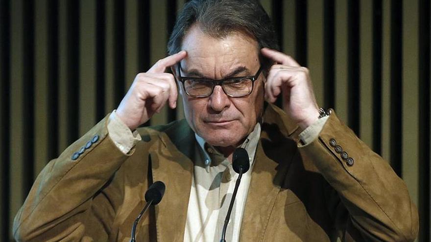 """Artur Mas cree que no hay """"suficientes"""" catalanes que apoyan la independencia"""