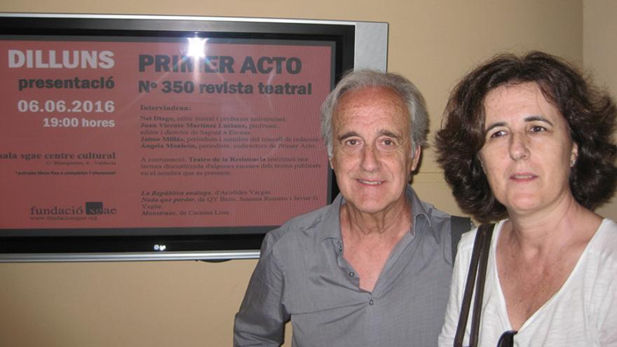 Jaime Millás y Ángela Monleón