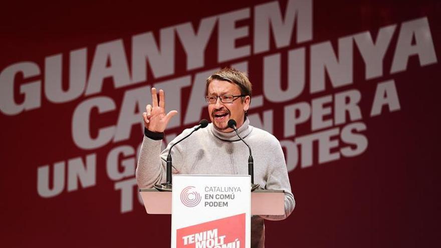 Domènech a Puigdemont: No puedes estar en el futuro del gobierno de Cataluña