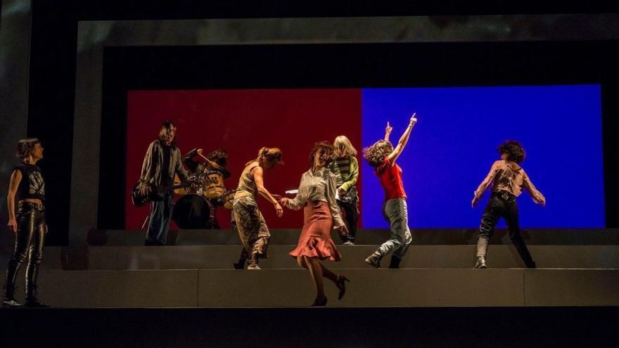 Una producción teatral valenciana.