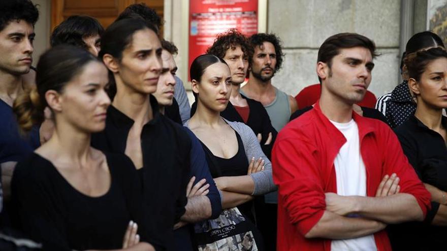 Los bailarines del BNE terminan su huelga en espera de la propuesta del Inaem