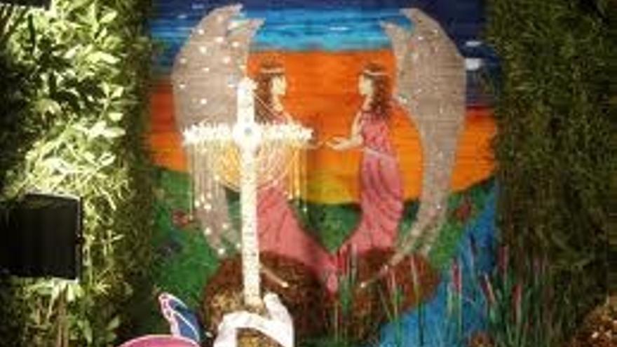 Foto de archivo de una de las cruces de Las Breñas. (Foto: Senderos de La Palma)