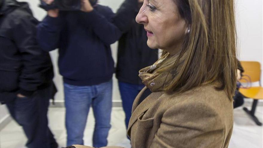 La exalcaldesa de Jerez reprocha que quieran convertirla en rostro de la corrupción