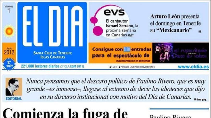 De las portadas del día (01/06/2012) #3