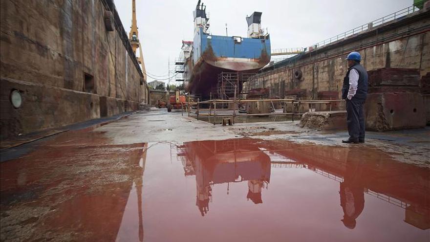 Astander comienza la transformación del buque-factoría, que entregará en mayo