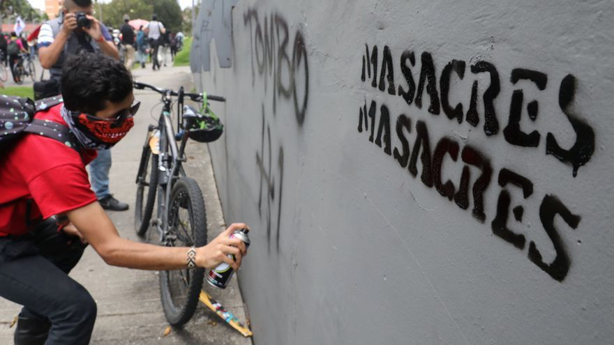 Colombia vive el comienzo de año más violento desde la firma de paz de 2016