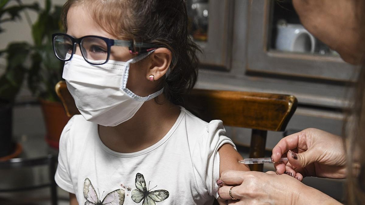 Vacunación en menores