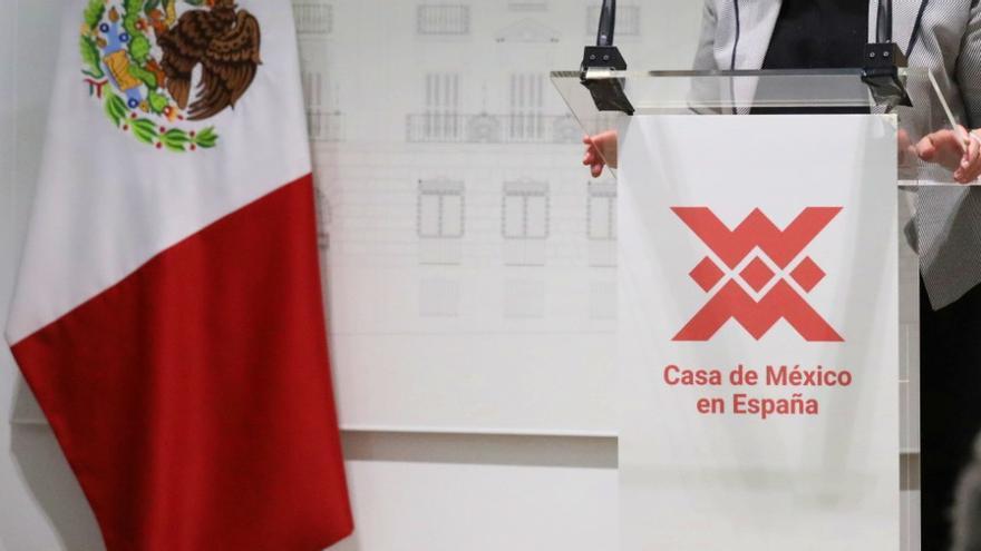 Un momento de la presentación de la Casa de México en España