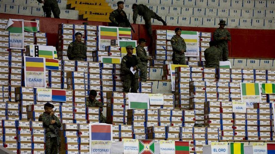 Consejo Electoral de Ecuador inicia entrega de credenciales a legisladores